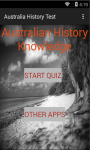 Australia History test screenshot 1/6