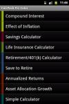 CalcPack Fin Calcs screenshot 1/3