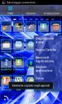 HiTech Electric Blue Theme GoLauncher EX screenshot 3/3