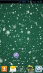 Snowflake Green Live Wallpaper screenshot 2/3