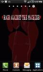 Rage Against The Machine Live Wallpaper screenshot 1/3