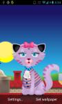 Kitty Cat Live Wallpapers   screenshot 1/3