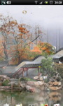 Misty Chinese Garden LWP screenshot 2/6