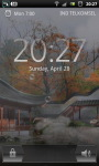 Misty Chinese Garden LWP screenshot 4/6