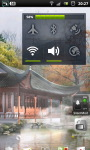 Misty Chinese Garden LWP screenshot 5/6
