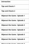 Wipeout  Guide screenshot 1/2