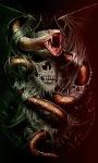 Snake Skull Live Wallpape screenshot 1/3