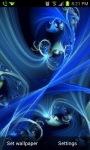 Blue Art Live Wallpaper screenshot 1/3