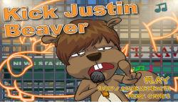 Kick Justin Beaver screenshot 3/3