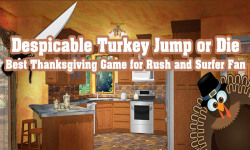 Despicable Turkey Jump  Thanksgiving Game for Kids screenshot 1/6