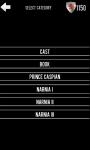 Quiz Narnia screenshot 2/6