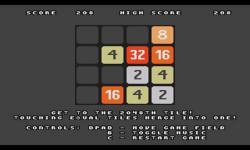 2048 original game  screenshot 1/4