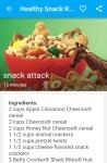 Healthy Snack Recipe screenshot 5/6