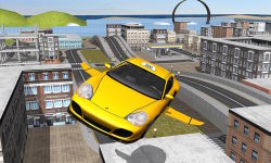 Flying Taxi car simulator screenshot 3/4