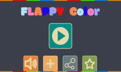 Flappy Color Ball screenshot 1/6