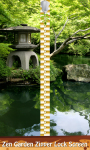 Zen Garden Zipper Lock Screen screenshot 1/6