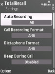 Total Recall No Beep Call Recorder screenshot 2/3