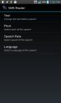 The SMS Reader screenshot 1/3