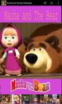 Masha and the Bear Wallpaper Cute screenshot 2/6