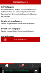 Free Cat Wallpapers screenshot 1/6