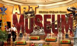 Free Hidden Object Games - Art Museum screenshot 1/4