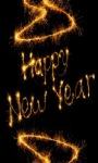 Golden New Year Live Wallpaper screenshot 1/3