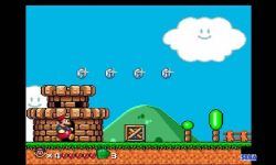Super Mario World Sega Emultor screenshot 4/4