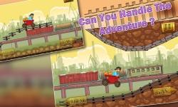 Speedy Gold Miner Rail Rush screenshot 2/5