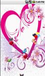 Pure True Love Live Wallpaper screenshot 2/5