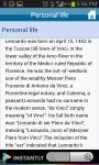 Leonardo Da Vinci History Pics screenshot 2/3