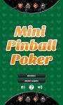 Mini Pinball Poker Free screenshot 1/3