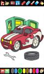 Cars Coloring Book Game screenshot 4/6