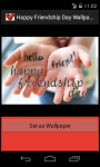 Happy Friendship Day 2014 HD Wallpaper screenshot 4/6