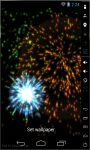 Colorful Fireworks Live Wallpaper screenshot 1/3