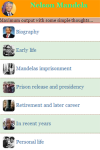 Nelson Mandela v1 screenshot 2/3