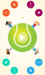 Circular Tennis  Multyplayer Games screenshot 2/5