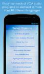 VOA Mobile Streamer screenshot 1/4