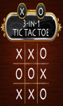 3in1 Tic Tac Toe screenshot 1/3