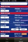 Stansted Airport - iPlane Flight Information screenshot 1/1