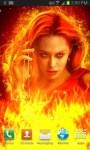 Queen of Fire Live Wallpaper free screenshot 1/3