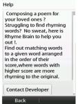 Rhyme Brain screenshot 3/3