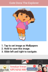 Cute Dora the Explorer Wallpaper screenshot 3/6