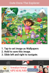 Cute Dora the Explorer Wallpaper screenshot 4/6