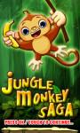 Jungle Monkey Saga - Free screenshot 1/4