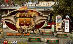 Free Hidden Object Game - Route 66 screenshot 1/4