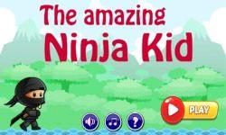 Amazing Ninja Kid Run screenshot 1/4