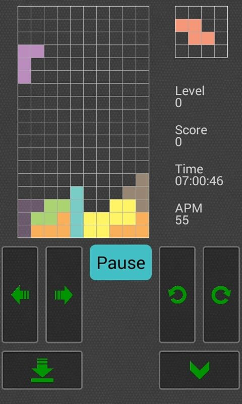free tetris classic