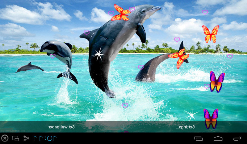 Free 3D Dolphin Live Wallpapers APK Download For Android