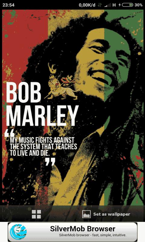 Bob Marley Mobile HD Wallpapers Screenshot 3 6