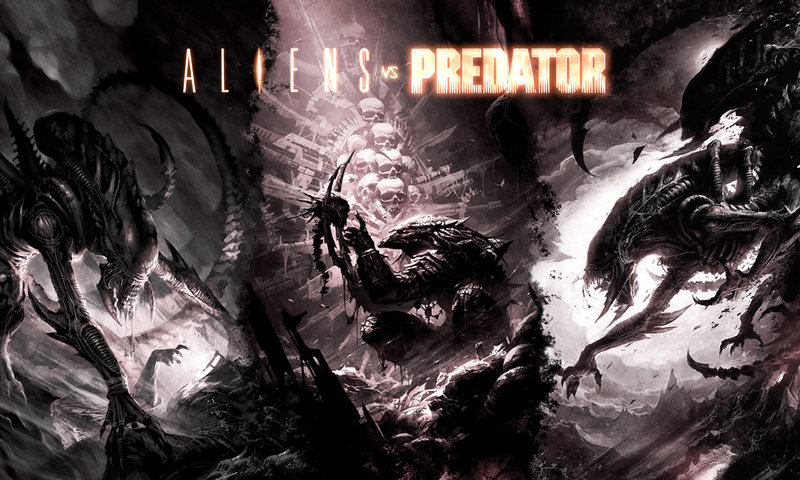 Alien Vs Predator Wallpaper Hd Free Alien vs P...